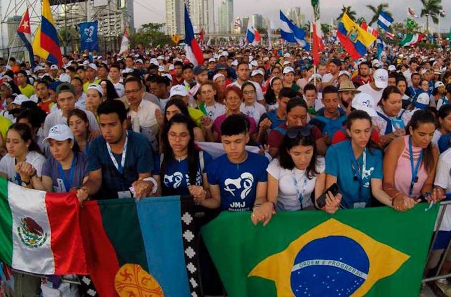 Kick off event at World Youth Day, Panama, 22 January 2019