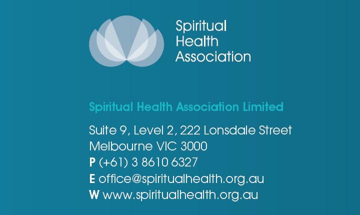 Spiritual Health Association footer