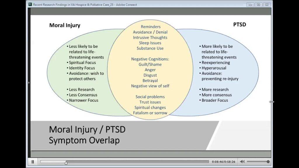 Moral Injury - PTSD continuum